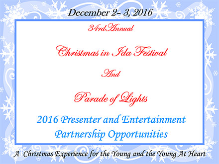 2016 Presenter and Entertainment Partner Opportunities