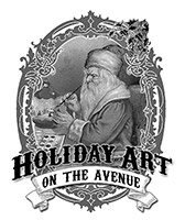Holiday Art on the Avenue Logo