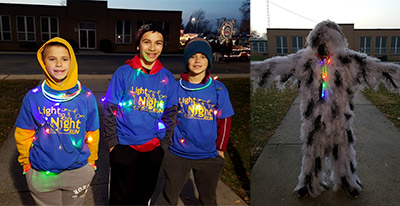 the light up the night run is held on saturday before the parade of lights and is a benefit for the ida links program which provides peer to peer - Christmas In Ida
